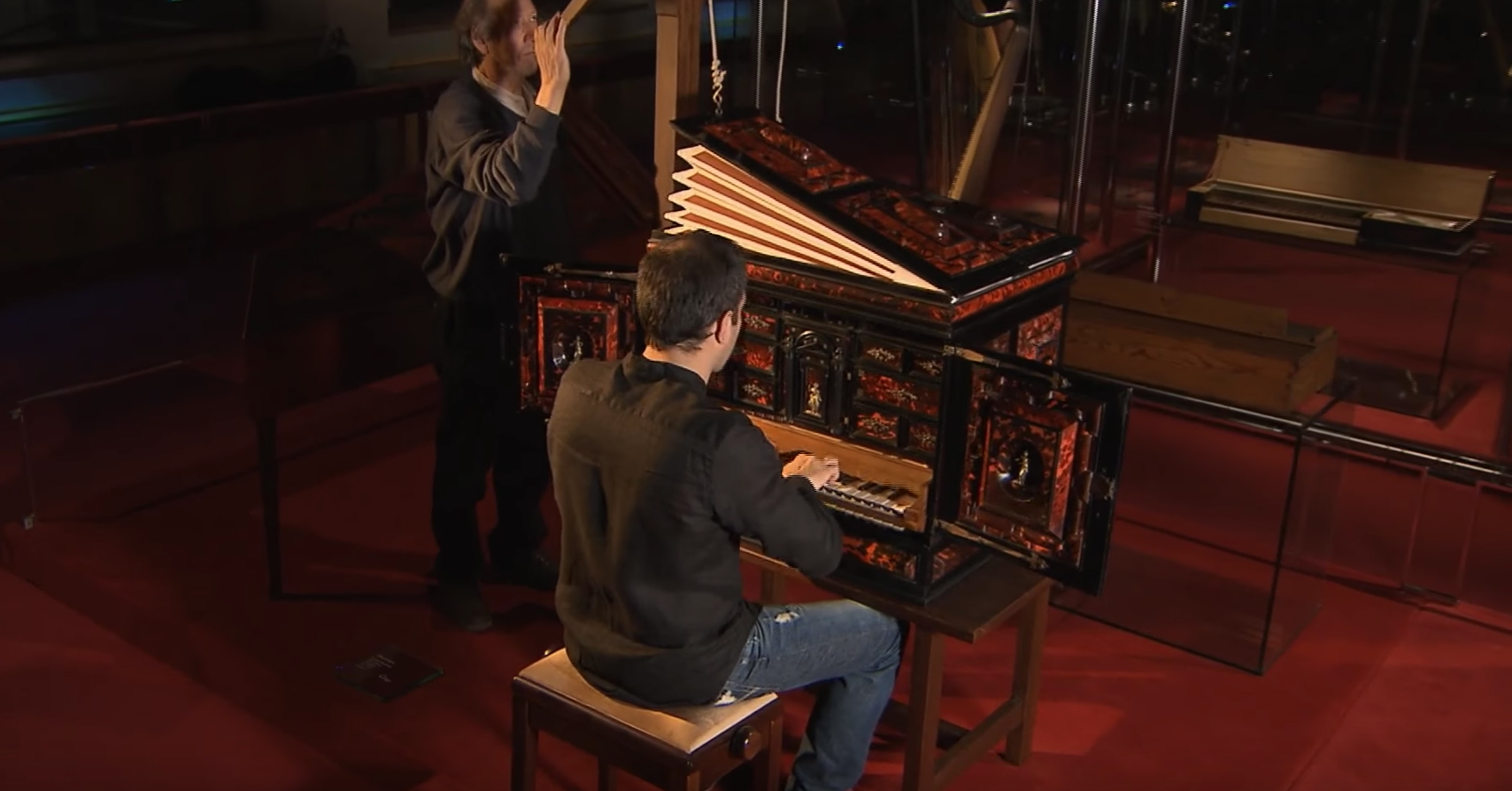 The Hauslaib claviorgan (Barcelona), a unique instrument in the world